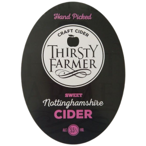 Thirsty Farmer Nottinghamshire Sweet Cider