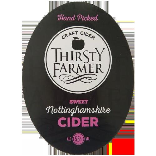 Thirsty Farmer Nottinghamshire Sweet Cider
