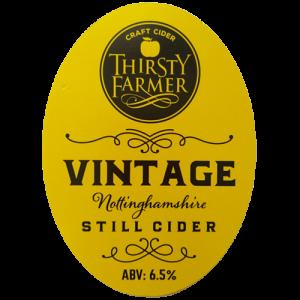Thirsty Farmer Nottinghamshire Vintage Still Cider