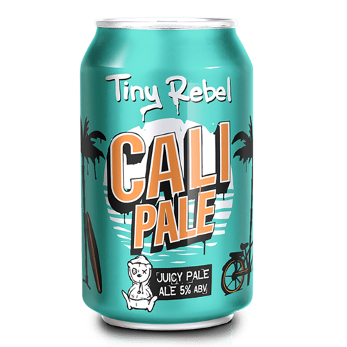Tiny Rebel Brewery Cali Pale Cans