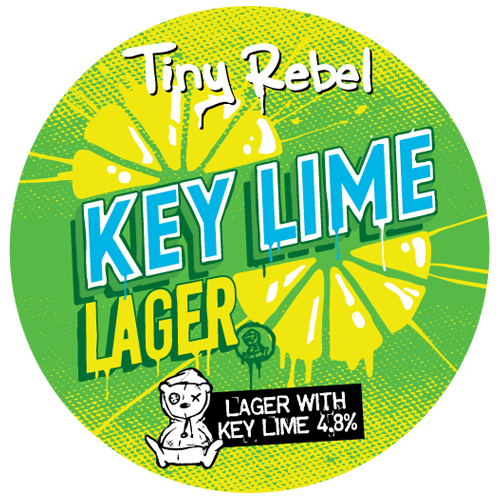Tiny Rebel Brewery Key lime