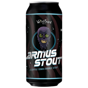 Weird Beard Armus Stout Cans