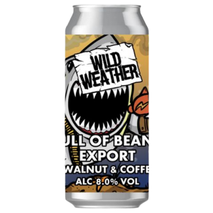 Wild Weather Full of Beans Export cans