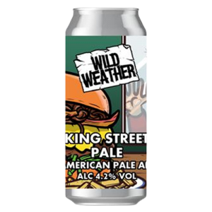 Wild Weather King Street Pale Cans