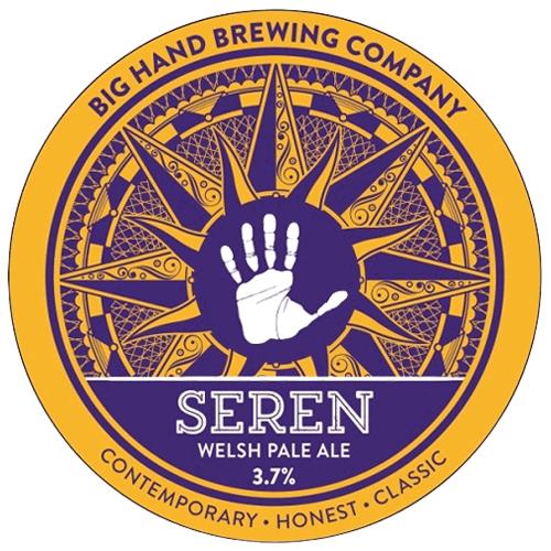 Big Hand Brewing Co Seren Welsh Pale Ale