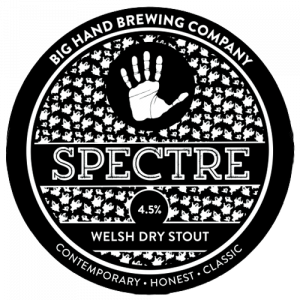 Big Hand Brewing Co Spectre Welsh Dry Stout Ale