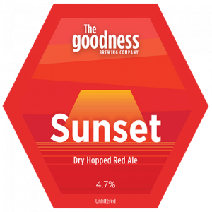 The Goodness Brew Sunset Dry Hopped Red Ale