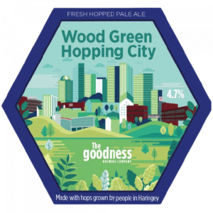 The Goodness Brew Wood Green Hopping City Pale Ale