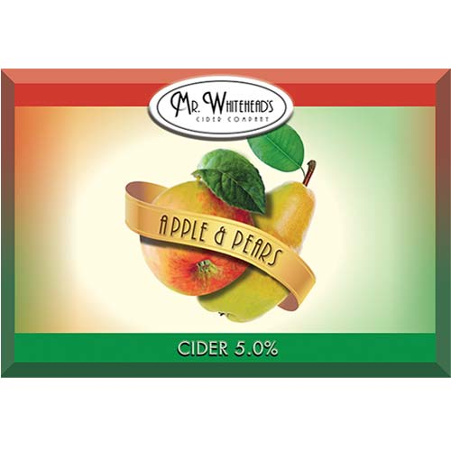 Mr Whitehead's Cider Company Ciders and Pears