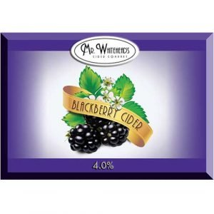 Mr Whitehead's Cider Company Blackberry Cider
