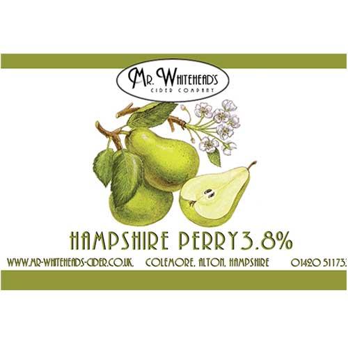 Mr Whitehead's Cider Company Hampshire Perry